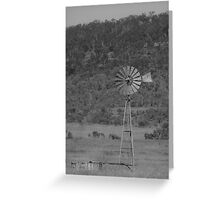 An Old Windmill - The Southern Cross Greeting Card