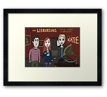 Librarians Heart Framed Print
