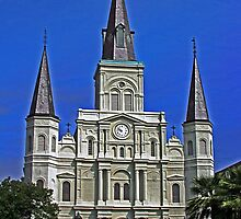 Saint Louis Cathedral by Turtle6