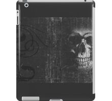 Grey Scull iPad Case/Skin