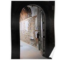 Doorway at Eastern State Penitentiary  Poster