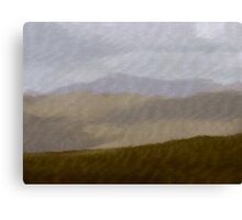 The Colours of Welsh Mountains Canvas Print