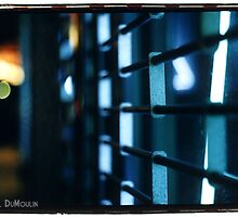 neon gate by Rachael DuMoulin