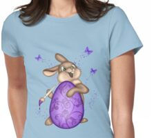 The Easter Bunny, tee shirt Womens Fitted T-Shirt