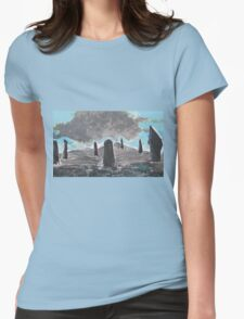 The Ring of Brodgar Womens Fitted T-Shirt