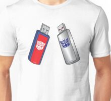 Transformers USB Unisex T-Shirt