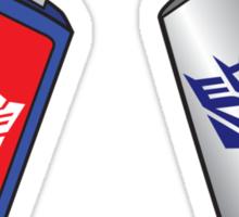 Transformers USB Sticker