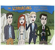 Librarians Crown Poster