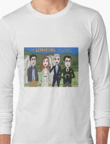 Librarians Crown Long Sleeve T-Shirt