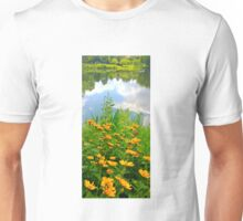 Daisies Near the Lake Unisex T-Shirt