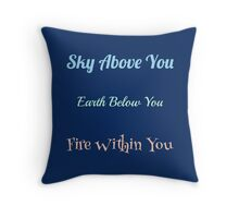 Inner Flame Throw Pillow