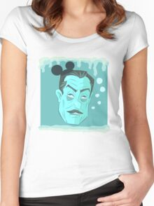 Frozen Walt's Head Women's Fitted Scoop T-Shirt
