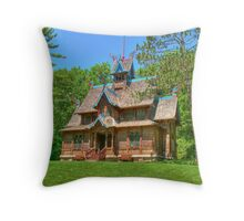 The Norway Building Throw Pillow