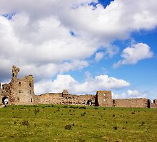 Dunstanburgh Castle by Lynne Morris