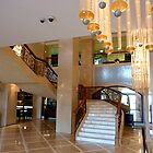 Marble Staircase at Dubai Westin by Keith Richardson