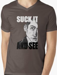 Alex Turner Portrait Mens V-Neck T-Shirt