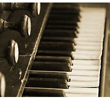 Music of the past. Photographic Print
