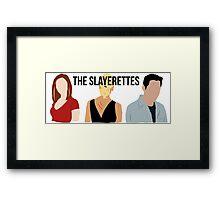 The Slayerettes Framed Print