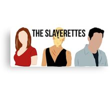 The Slayerettes Canvas Print