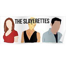 The Slayerettes Poster