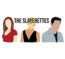 The Slayerettes Photographic Print