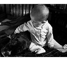Me and You... Always... -Boxer Dogs Series- Photographic Print