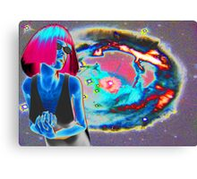 PSYCHEDELIC COSMIC WONDER Canvas Print