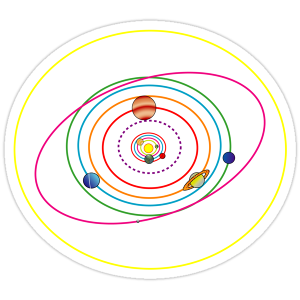 Solar System by MangaKid