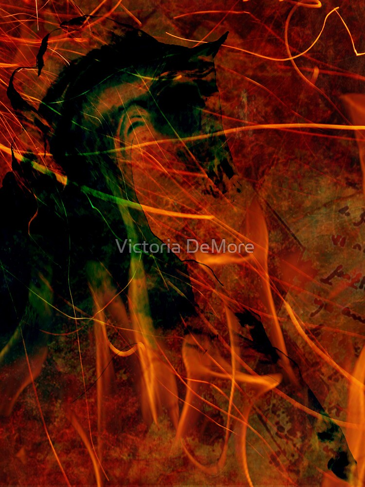 Fire Dancer by Victoria DeMore