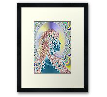 PSYCHEDELIC NEW ROMANTIC Framed Print
