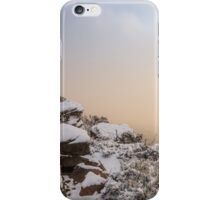 Grampians Snow Sunrise - Shrubs iPhone Case/Skin
