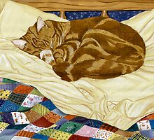Henry and the Patched Work Quilt by Angela Cater