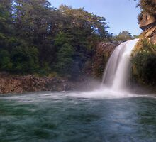 Tawhai Falls, Tongariro National Park by Paul Mercer