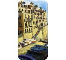 Riomaggiore Italy Late Afternoon iPhone Case/Skin