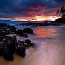 Pa'ako Beach Drift by Ken Wright