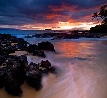 Pa'ako Beach Drift by Ken Wright