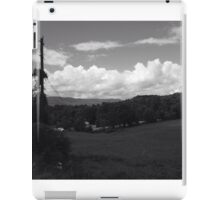 Driving through the mountains iPad Case/Skin