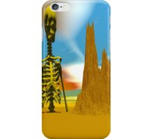 LOST IN A DESERT iPhone Case/Skin