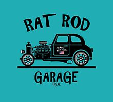 RAT ROD GARAGE...Product of the U.S.A.! by Kricket-Kountry