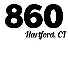 Area Code 860 Hartford CT by GiftIdea