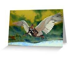 POLLUTION SKY Greeting Card