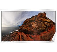 Mount Parsons Panorama Poster