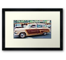 Woody Surf's up!!! Framed Print