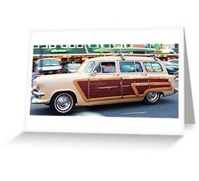 Woody Surf's up!!! Greeting Card