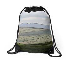 Distant Pen y Fan (Details)  Drawstring Bag