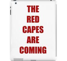 Batman vs Superman The red capes are coming iPad Case/Skin