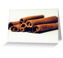 Cinnamon Greeting Card