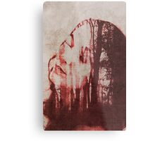 The lady in the woods Metal Print