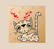 Kitten with Hearts Unisex T-Shirt