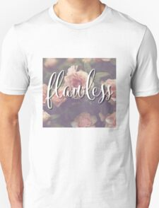 Flawless Floral Beyonce Design Unisex T-Shirt